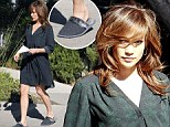 Well, she sure is real! Jennifer Lopez swaps her glamorous image for house slippers and an unflattering robe on set of new movie