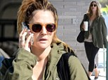 Gotta do it! Pregnant Drew Barrymore dragged herself to yoga in Los Angeles, California on Sunday
