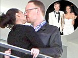 Heating up the honeymoon! Newlyweds Jared Harris and wife Allegra smooch on hotel balcony, days after tying knot in Miami