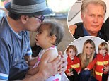 Heartbreaking: Charlie Sheen's father Martin fears he'll be 'cut out of twins' lives' after Brooke Mueller regains custody... as Denise Richards shows a softer side to her ex