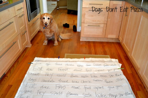 making curtains out of Ikea curtain panels and a sharpie at www.dogsdonteatpizza.com