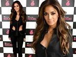 Looking schmazing! Nicole Scherzinger continues her run of flesh-baring outfits in a cropped jacket at Children In Need Rocks