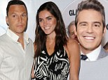 'You and Hilary make a better couple than you and me!': Andy Cohen congratulates Sean Avery and Victoria's Secret model Hilary Rhoda after they confirm engagement