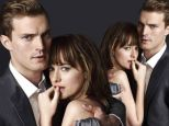 Sizzling! Dakota Johnson and Jamie Dornan look just right as they pose for first time as 50 Shades Of Grey's kinky couple Anastasia and Christian