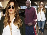'The healing will take a long time': Khloe Kardashian and Lamar Odom 'enter couples therapy but she wants to think the marriage over' during trip to London