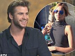 'I don't have a lady at the moment!' Liam Hemsworth says he's 'single' despite reports linking him to Eiza Gonzalez