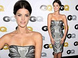 Sorry boys! Jaimie Alexander steals spotlight in dazzling diamante dress at GQ Men Of The Year Party