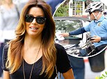 Pretty pamper! Eva displayed her lovely locks as she exited Ken Paves Salon in West Hollywood, California on Tuesday but was unfortunately gifted a parking ticket