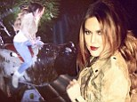 'I flew off that thing!' Khloe Kardashian admits she's no rodeo queen after bumpy ride on mechanical bull