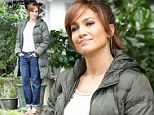 Not exactly dressed for seduction! Jennifer Lopez hides her famous curves on set of movie where she plays an older woman who has an affair with teenage boy