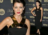 Danni Minogue attends the Who magazine sexiest people party in Sydney, Australia