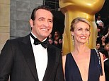 Official: French actor Jean Dujardin has confirmed his separation from wife of four-years Alexandra Lamy