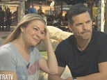 Reality couple: Hollywood couple LeAnn Rimes and Eddie Cibrian talked babies and addressed divorce rumours with their sky-diving buddy, Extra host Mario Lopez, Monday