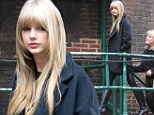 Hoping to outshine the models? Taylor Swift looks chic in knee-high leather boots at Victoria's Secret Fashion Show rehearsals