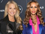 What's their secret? Christie Brinkley, 59, and Iman, 58, show up women half their age at New York premiere