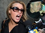 There were dramatic scenes inside and outside of the New York court where the trial of Genevieve Sabourin, the woman accused by Alex Baldwin of stalking him and his family continued today.