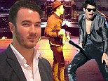 The Jonas Brothers are back together...sort of: Joe and Nick honour pre-split promises with show in Mexico City while Kevin stays at home