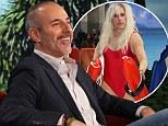 'It's a testicle vice': Matt Lauer reveals to Ellen DeGeneres the secrets of his transformation into '90s Baywatch vixen Pamela Anderson for Halloween