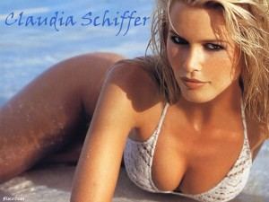 European models - Claudia Shiffer
