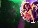Drake and Rihanna at strip club