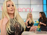'I don't read or write': Courtney Stodden on why she won't pen tell-all book as she claims she's a 'true feminist' on Bethenny Frankel's talk show