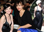 Anne Hathaway steals the spotlight at Rashida Jones' jewellery launch... but commits cardinal Hollywood sin of wearing same dress twice