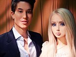 Rift: The real-life Ken and Barbie met earlier this year but failed to hit it off