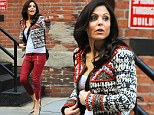 That's just mean! Bethenny Frankel stirs up fashion envy as she gets her hands on in-demand Isabel Marand collection