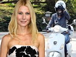 Licence to ride revoked! Gwyneth Paltrow's children's school bans Vespas following actress' near crash in September