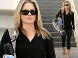 Ali Larter left a Hollywood gym without a scrap of make-up on. The star, who¿s best known for playing the roles of Niki Sanders and Tracy Strauss on sci-fi drama Heroes, looked confident as she left the exercise studio