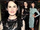 The seasons are changing! Michelle Dockery is a sheer wintery delight and Jessica Pare debuts bangs at fancy Hollywood dinner