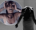 WATCH: Rihanna writhes around dramatically as she channels 'demented' woman in intense video for What Now
