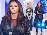 No longer a Little Muffin: Little Mix's Jesy Nelson wows in head-to-toe leather for outstanding performance on This Morning