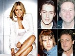 The 45-year-old actress has revealed that she has had just four boyfriends - and they all became her husband