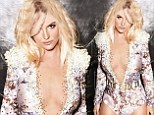 'Touring is hard on the body': Britney Spears sizzles in plunging Vegas showgirl one-piece as she talks about upcoming gig