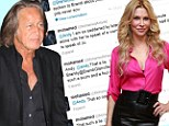 'It's a pure lie': Mohamed Hadid calls Brandi Glanville 'scum' for accusing him of sleeping with Joanna Krupa while married to Yolanda Foster