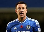 Wanted man: John Terry is being eyed up by Turkish giants Galatasaray