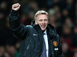 Fist pump: David Moyes and Manchester United are close to bringing in John Murtough
