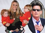 Brooke Mueller 'hid two rehab stints from doctors during pregnancy with Charlie Sheen's help'