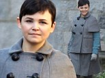 Usually stylish Ginnifer Goodwin looks frumpy in unflattering grey suit as she films Once Upon A Time in Canada