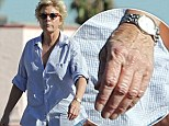 No ring... yet: Family Ties star Meredith Baxter goes on a grocery run without a wedding band one week after picking up her marriage license