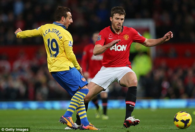 Missing: Carrick had surgery on an Achilles injury and is expected to be out for between four and six weeks