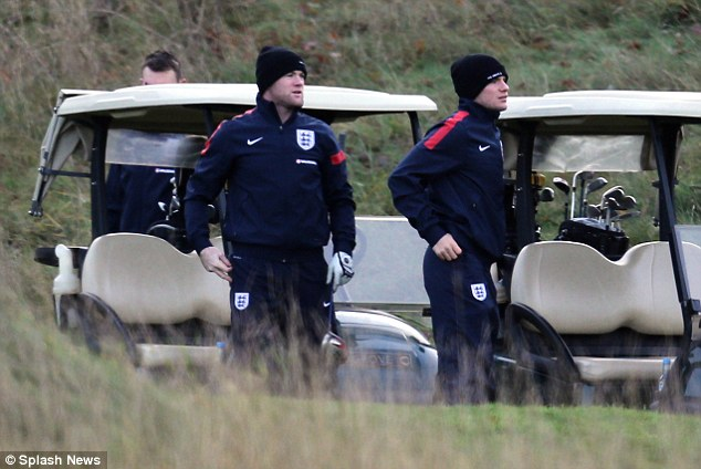 Driving force: Wayne Rooney (left) is enjoying life on and off the pitch so far this season