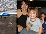 Human remains were found on Monday in the remote San Bernardino County sparking fears it could be the bodies of Joseph and Summer McStay and their sons.