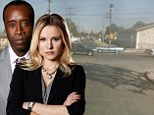 Kristen Bell and Don Cheadle caught in the middle of gang shooting while filming on location for House Of Lies