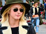 Julianne Hough flaunts washboard abs
