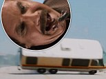 Sting in the tale! Ron Burgundy swallows a scorpion after Winnebago crashes in new Anchorman 2 trailer