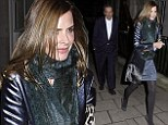 Trinny Woodall and Charles Saatchi dine at 34