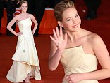 Jennifer Lawrence attends the Premiere Hunger Games La ragazza di fuoco during The 8th Rome Film Festival at Auditorium Parco Della Musica