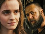 Emma Watson is Russell Crowe's doubting daughter in first full length trailer of Noah... as the biblical adaptation tests poorly with religious audiences